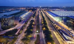 Changi_Terminal 2 and 3 aerial view