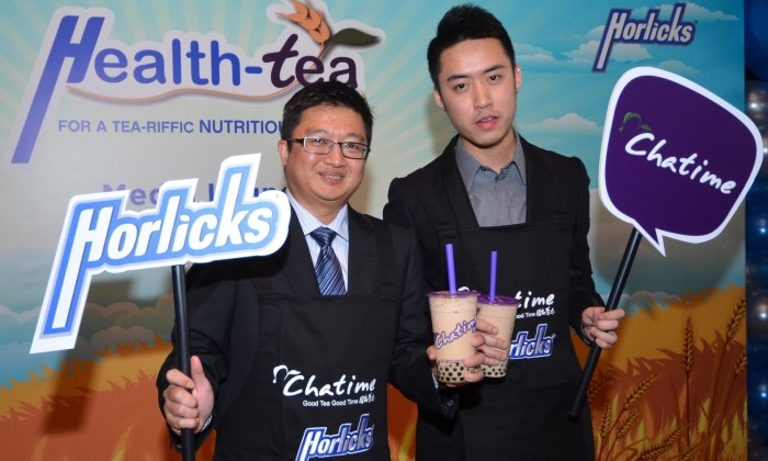 Chatime Horlicks collaborate
