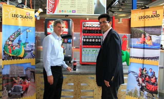 Coca-Cola is official LEGOLAND partner
