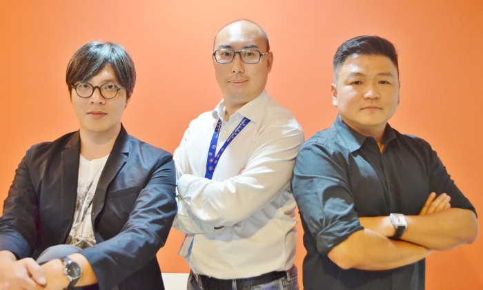 L to R - LIEW SANYEN, If Isobar Executive Creative Director, ROY TAN, If Isobar MD and CHRISTOPHER KOH, If Isobar Executive Director