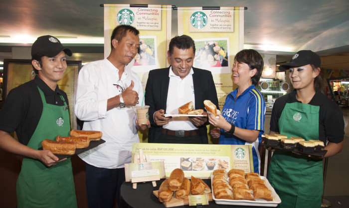 Starbucks CSR launch_Apr13