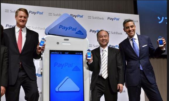 Paypal, Softbank JV