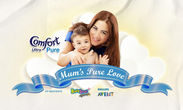 Comfort Ultra Mum's Pure Love Campaign