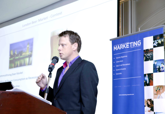 "Marketing Insights Andrew ""Max"" Walker head of global brands Asia at SABMiller"