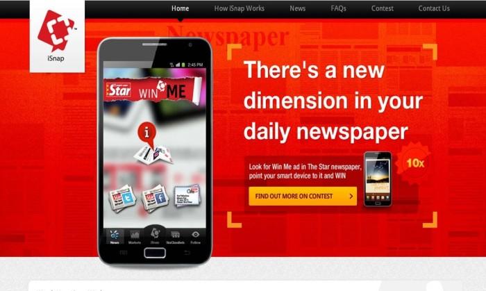 iSnap website