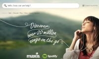 Maxis Spotify page