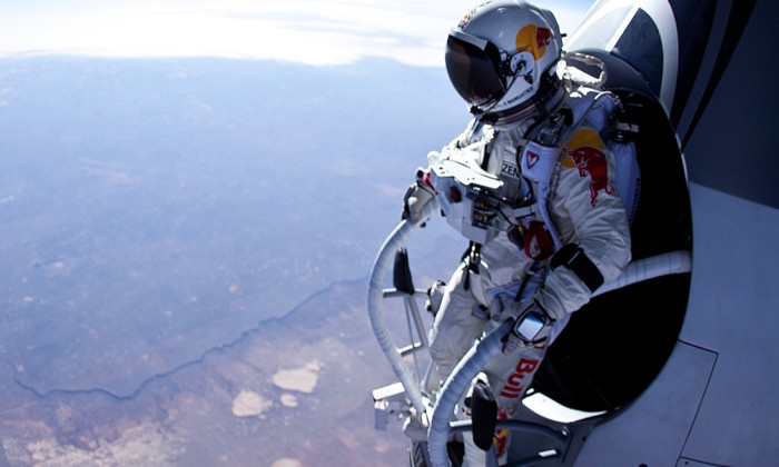 The Red Bull space-diving Stratos project