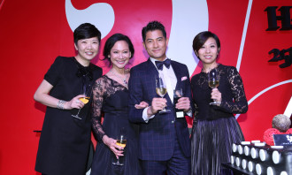Josephine Chan, Jeanette Chang, Aaron Kwok and Amy Cheng.