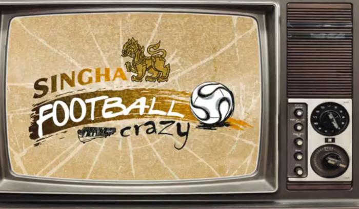 Singha football crazy