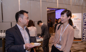 Danny Chan, general manager Sime Darby Motor Group with Jennifer Lam of Hong Kong Land