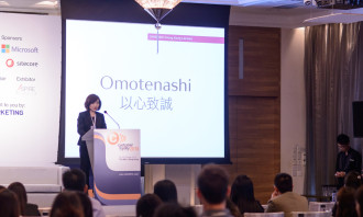 Omotenashi, the heart of Japanese hospitality, is what Shiseido aspires to, says Shiseido Hong Kong president Esther Kwong.