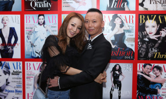 Xaven Mak, Chief Editor of Harper's BAZAAR and Eunis Chan.
