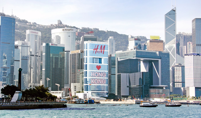 CITIC Tower Building Wrap-Panoramic View
