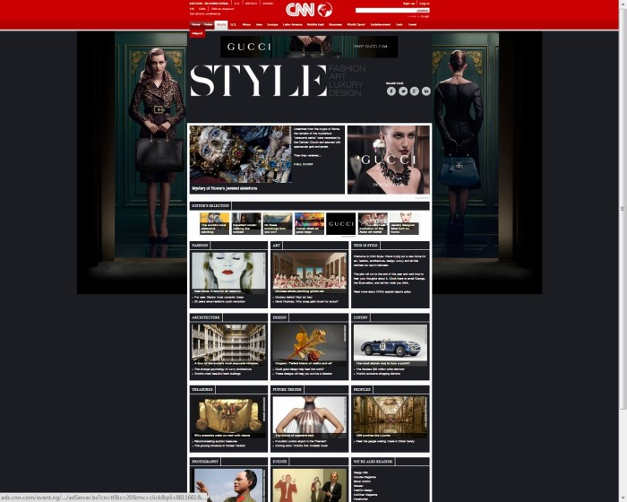 Gucci hands new TVC telecast right to CNN | Marketing