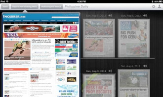 Inquirer-iPad-app