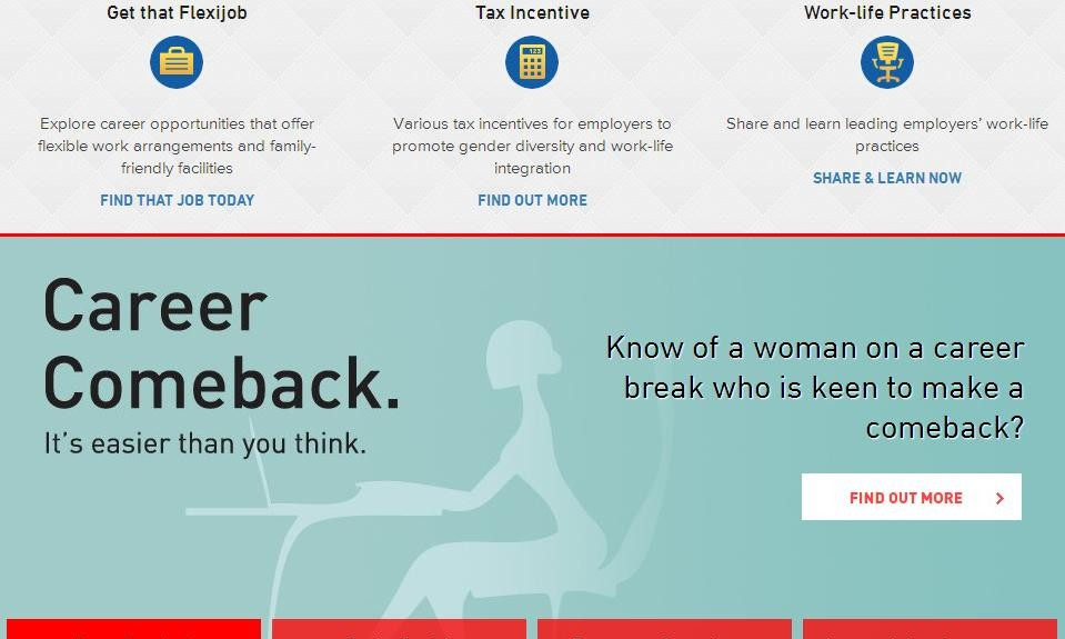Talentcorp Helps Women To Get Back To Work Marketing