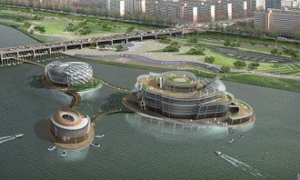 Floating Island Korea