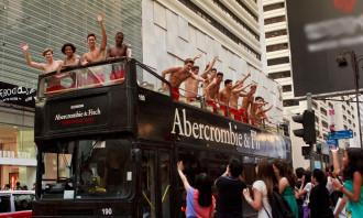 Abercrombie bus Hong Kong 2012