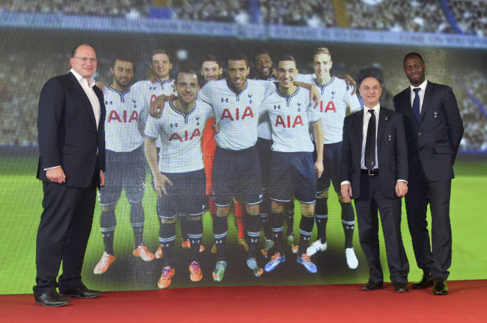 AIA 1 - (Left to right)Mark Tucker, Daniel Levy, Ledley King