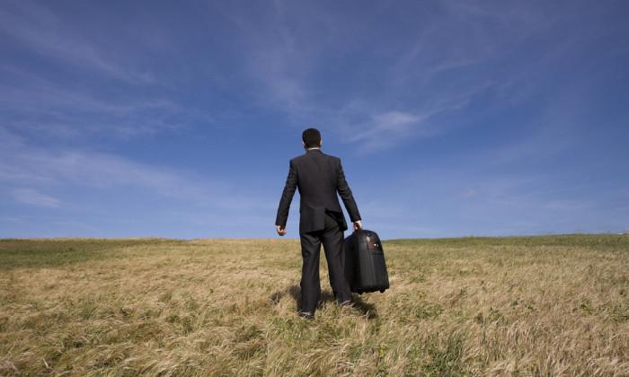 Business travel, job, departure