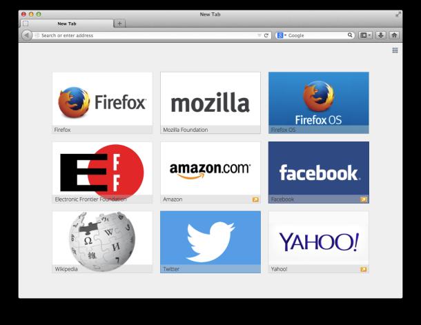 Image courtesy of Mozilla