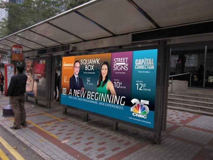 CNBC Bus Campaign