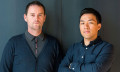 Martin Lever and Brandon Cheung