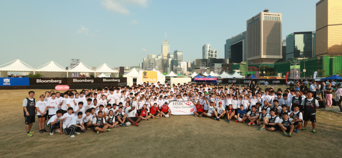 HSBC Rugby Festivals powered by Serevi arrived in Hong Kong