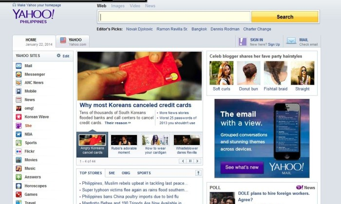 Yahoo PH homepage gets a facelift | Marketing Interactive