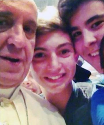 Papal Selfie