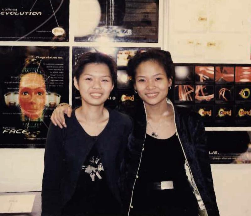 Valerie Cheng in school
