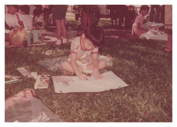 Pann at age 5