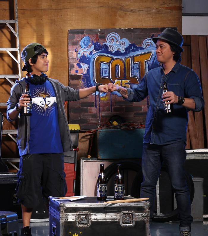 Abra and Raimund Marasigan for Colt 45