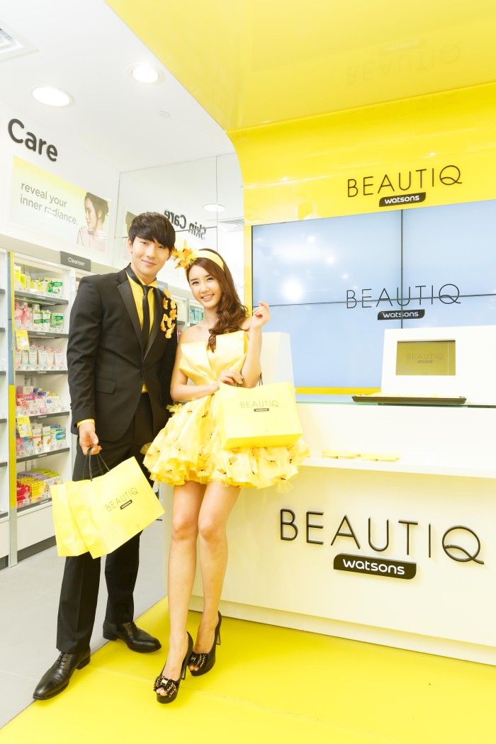 Beautiq Hong Kong Causeway Bay Store Models Watsons