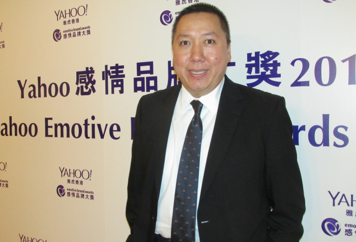 Taipan Director Garic Kwok Yahoo Emotive Awards 2014