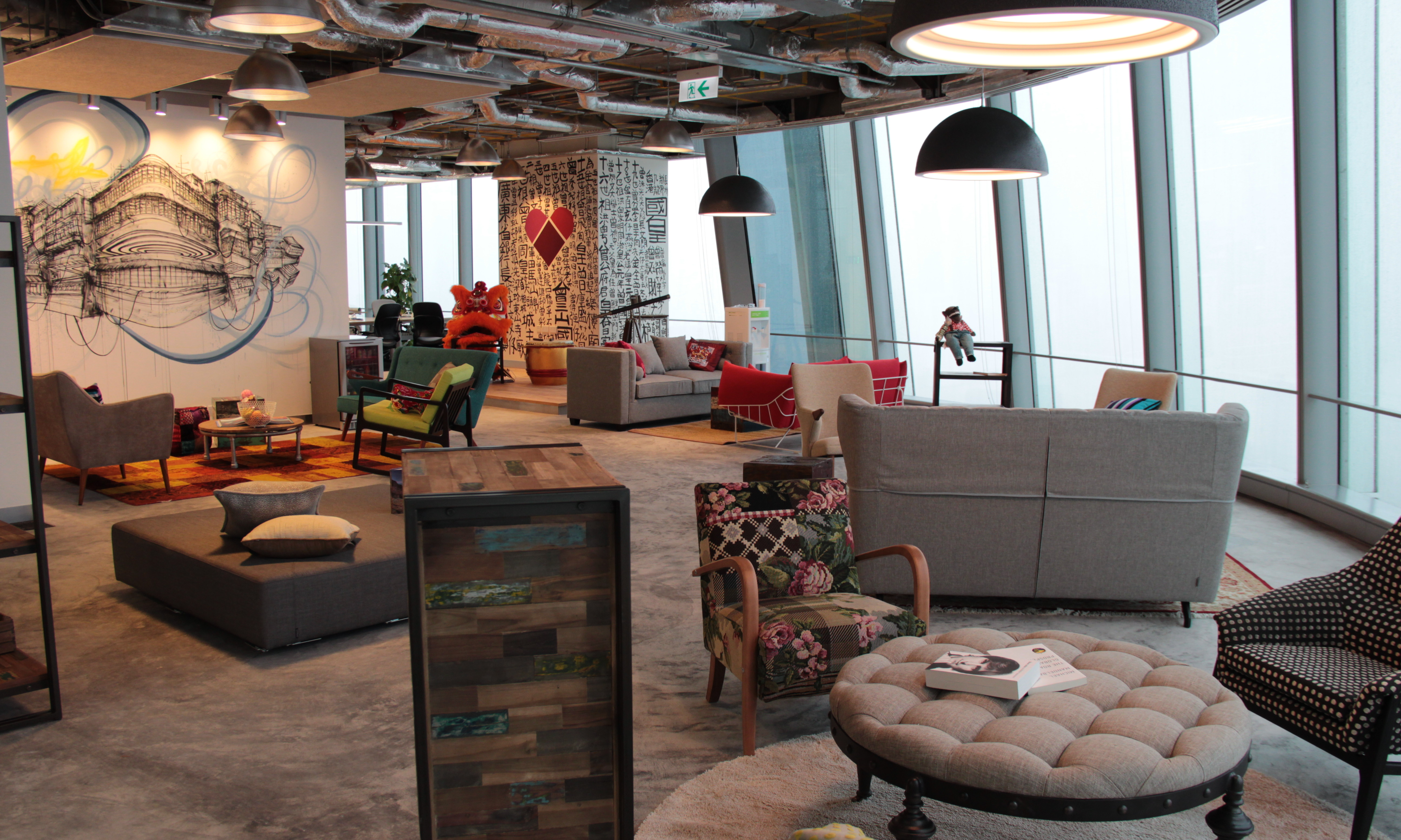 facebook home office. In This Exclusive Video, Jayne Leung, Head Of Sales Facebook Greater China, Reveals A Brand New Employee Structure The Hong Kong Office Designed To Home U