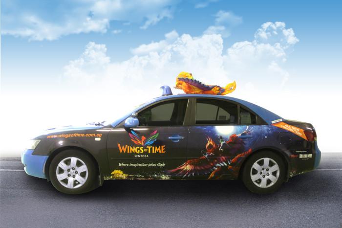 Moove's Comfort Taxi w 3D Top