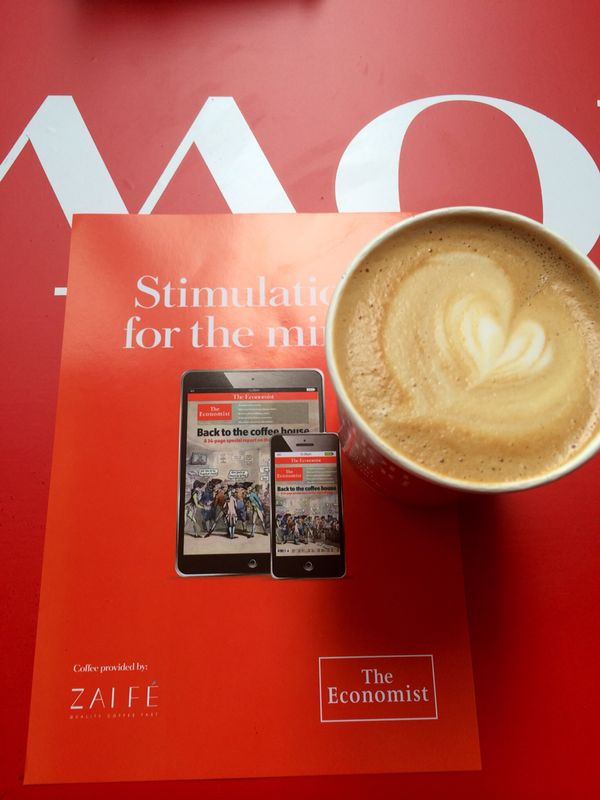 The Economist Hong Kong Coffee