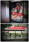 Best Use of Multiple Clear Channel Formats - H&M New Outlet