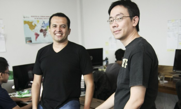 Italo Gani, CEO of Adskom and Daniel Armanto, CTO of Adskom. high res