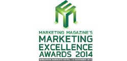 Marketing Excellence Awards 2014 Singapore