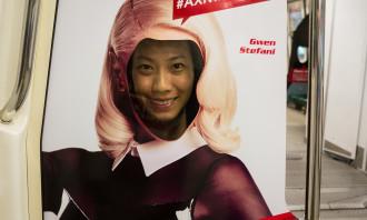 AXN Gwen Stefani Selfie