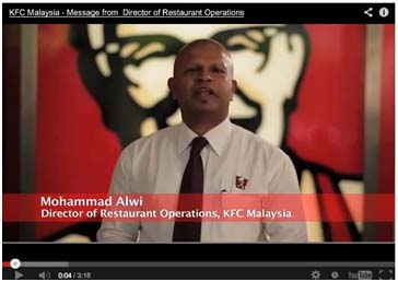 kfc marketing channel in malaysia Kfc marketing plan in terms of marketing resources, kfc has located around 6% of its kfc malaysia offers mostly fried products which.