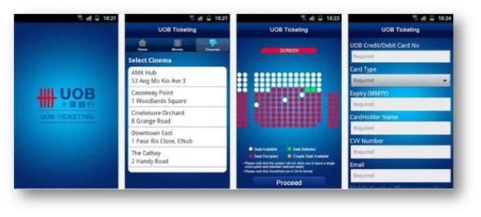 UOB Ticketing app