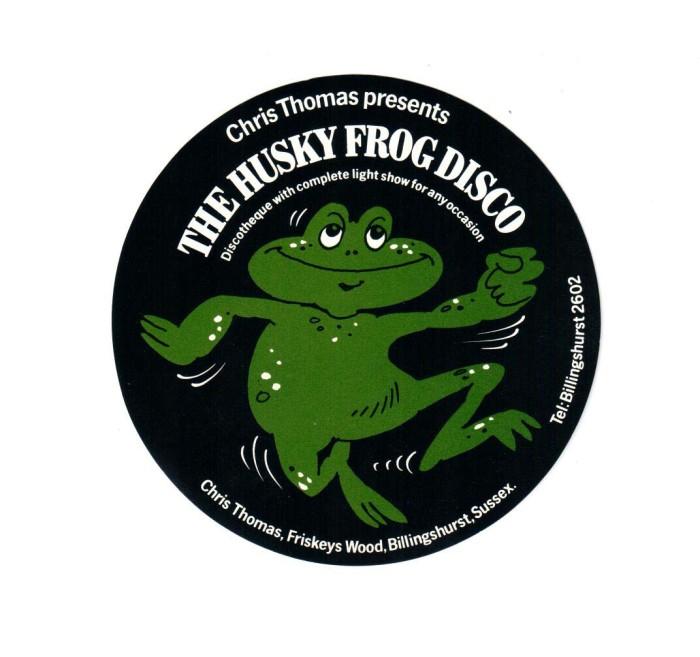 husky frog