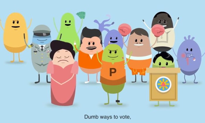 Dumb ways to Vote