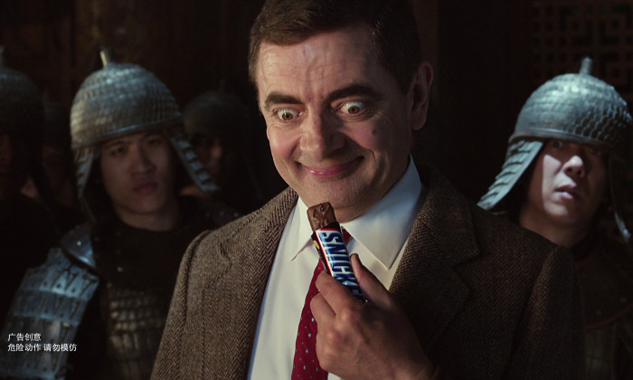 Mr Bean Snickers