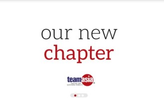 TeamAsia new website