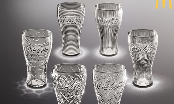 McDonalds's Coca-Cola Glass Campaign 2014