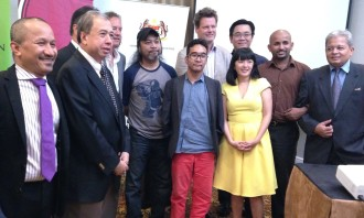 Nicole Tan and Tropfest partners